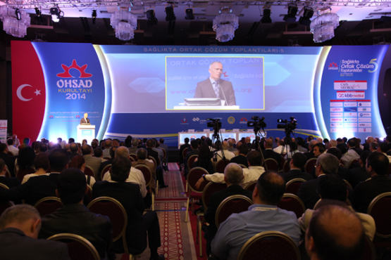 OHSAD Sağlıkta Ortak Çözüm Toplantıları 6, 15 – 19 Nisan'da Antalya'da