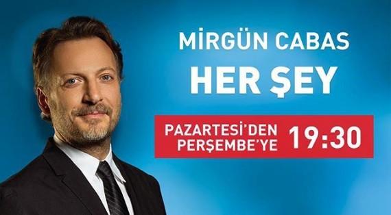 """Yönetim Kurulu Başkanımız Dr. Reşat Bahat CNN Türk Kanalında Mirgün Cabas ile """"Her Şey"""" programına katılacak"""