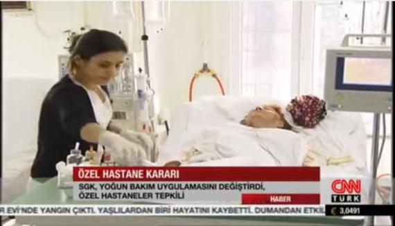 OHSAD Genel Sekreteri Dr. Cevat Şengül'ün Yoğun Bakım Ödemeleri Hakkında CNN Röportajı