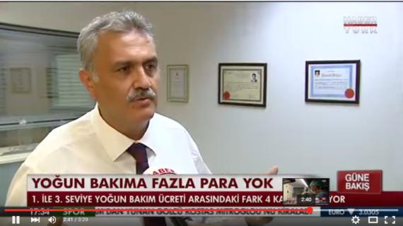 OHSAD Genel Sekreteri Dr. Cevat Şengül'ün Yoğun Bakım Ödemeleri Hakkında Haber Türk Röportajı