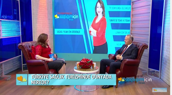 OHSAD Başkanı Dr. Reşat Bahat'ın Türkiye'de Sağlık Turizmi Konulu Röportajı