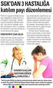 Akşam Gazetesi SGK haberi