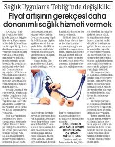 sağlık hizmeti haberi