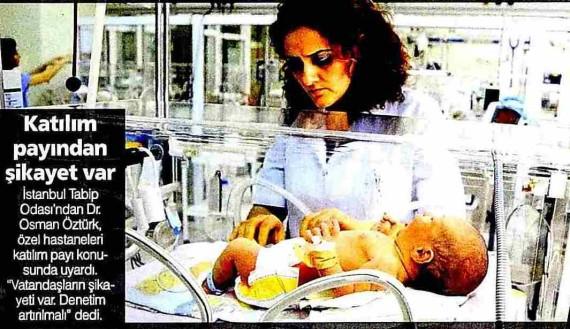 Bugün – 7 Gün 24 Saat Özel Hastane 20.05.2011
