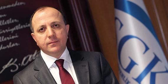 01.02.2013 tarihinde OHSAD Yönetim Kurulu Üyelerinin SGK Başkanı Sayın Fatih Acar Ziyareti