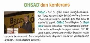 ohsaddan konferans