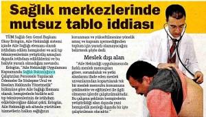 Hürriyet Ankara - Sağlık Merkezlerinde Mutsuz Tablo İddiası