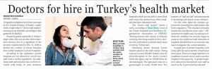 Hürriyet Daily News - Doctors For Hire In Turkey's Health Market