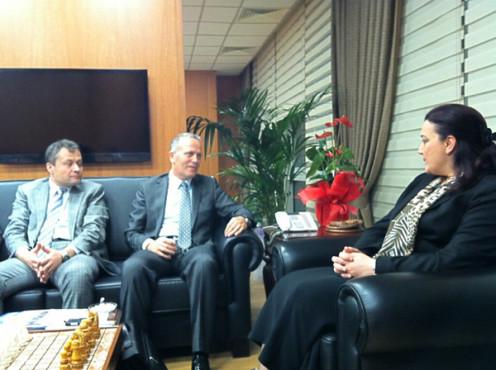 OHSAD Yönetim Kurulu SGK Başkanı Yadigar Gökalp İLHAN'ı ziyaret etti