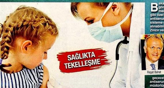 Bugün – Tek Firmadan Aşı Takip Cihazına İsyan 01.09.2015