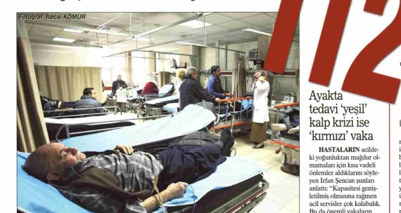 Sabah – Bedava Diye Herkes Acile Akın Etti 31.01.2011