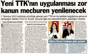 TTK'nın uygulanması zor