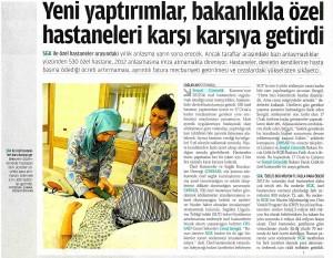 Yeni Yaptırımlar Bakanlıkla Özel Hastaneleri Karşı Karşıya Getirdi