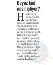 YENİ ASIR  BEYAZ KOD NASIL İŞLİYOR 30.12.2015