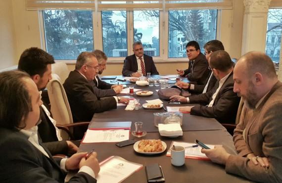 İstanbul İl Sağlık Müdür Yardımcısı Sayın Doç. Dr. Reşat Dabak OHSAD Yönetim Kurulu Toplantısına Katıldı