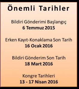 9. Akademik Geriatri Kongresi Nisan Ayında Antalya'da