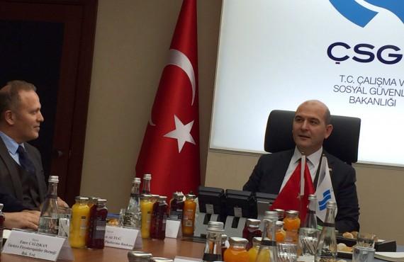 OHSAD, Çalışma ve Sosyal Güvenlik Bakanı ile Toplantıya Katıldı