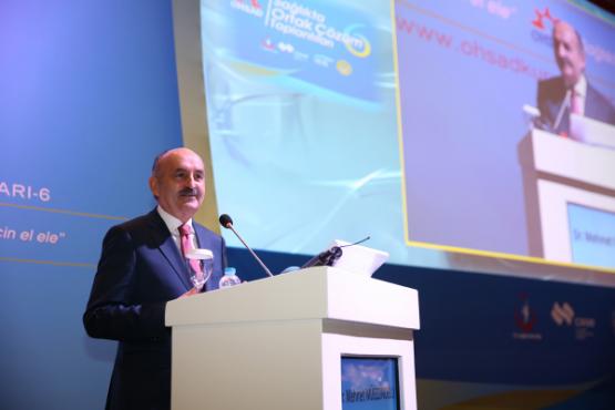 Çalışma ve Sosyal Güvenlik Bakanı Dr. Mehmet Müezzinoğlu OHSAD Kurultayında Canlı Yayında