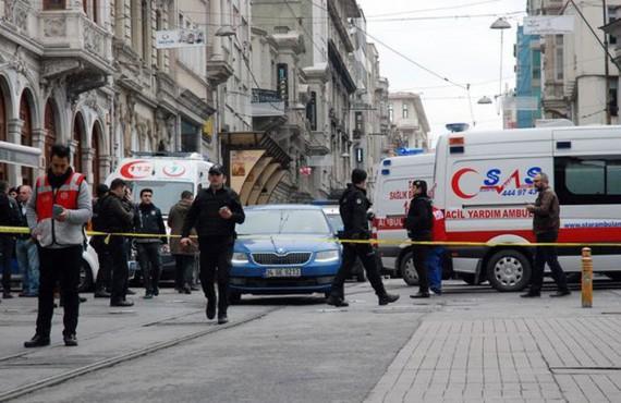 İstanbul'daki Saldırıyı Lanetliyoruz