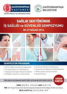 Sağlık Sektöründe İş Sağlığı ve Güvenliği Sempozyumu Düzenlenecek