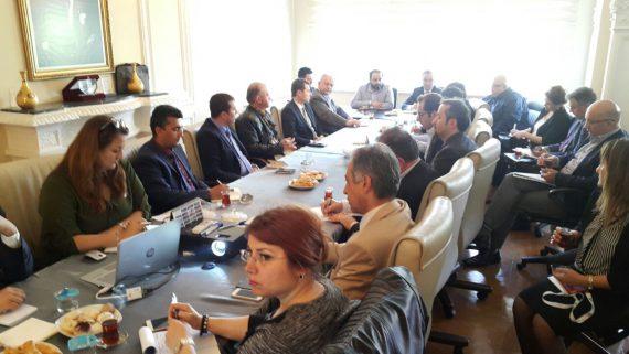 Çalışma ve Sosyal Güvenlik Bakanlığı Denetimlerine İlişkin Toplantı Yapıldı