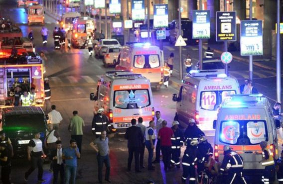 Atatürk Havalimanı'nda Gerçekleşen Hain Saldırıyı Lanetliyoruz