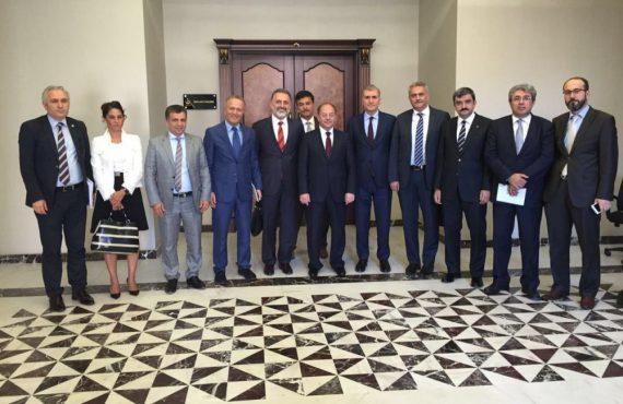 OHSAD Yönetimi, Sağlık Bakanı Recep Akdağ'ı Ziyaret Etti