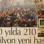 Hürriyet - 20 Yılda 210 Milyon Yeni Hasta
