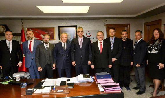 OHSAD Yönetim Kurulu, İstanbul İl Sağlık Müdürü Doç. Dr. Kemal Memişoğlu'nu Ziyaret Etti