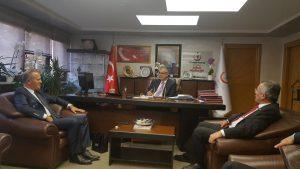 OHSAD Yönetiminin İstanbul İl Sağlık Müdürlüğünü ziyareti