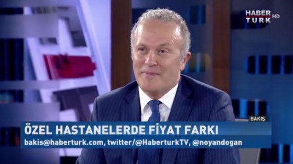 OHSAD Genel Başkanı Op. Dr. Reşat Bahat Haber Türk'te Sağlık Sistemini Konuştu