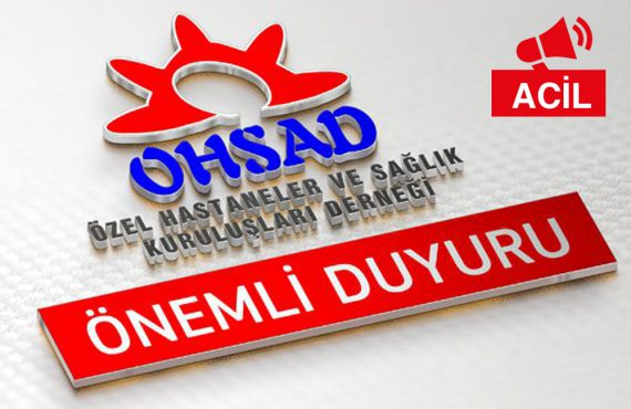 OHSAD Kurultayının  Ertelenmesi ile İlgili Bakanlık Talimatı