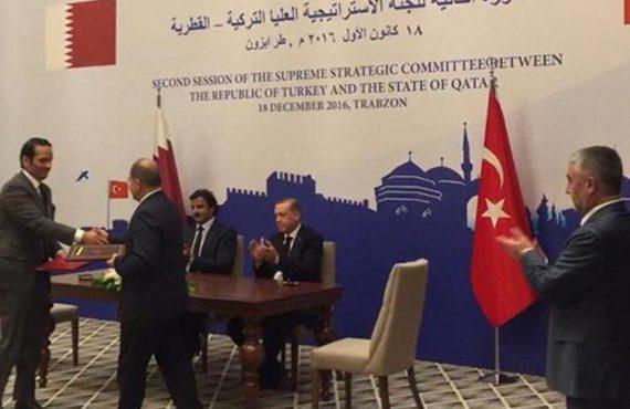Türkiye İle Katar Arasında İşbirliği Anlaşmaları