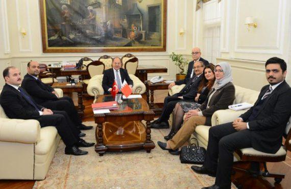 Recep Akdağ, Bahreyn Sağlık Konseyi Başkanı ile Bir Araya Geldi