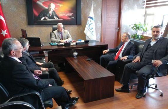 Cibali SSGM Müdürü Dr. Aziz Alemdar Makamında Ziyaret Edildi