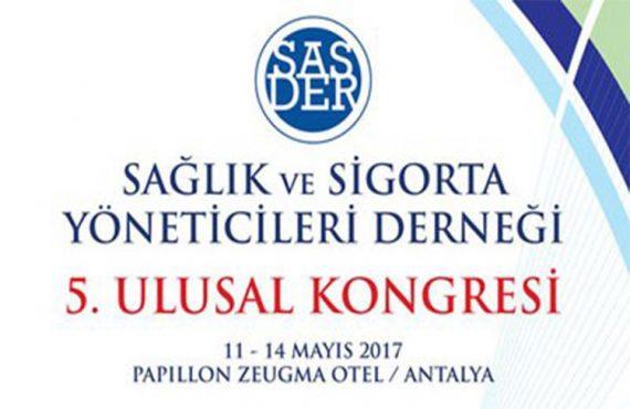 SASDER 5. Ulusal Kongresi Önümüzdeki Hafta Kapılarını Açacak