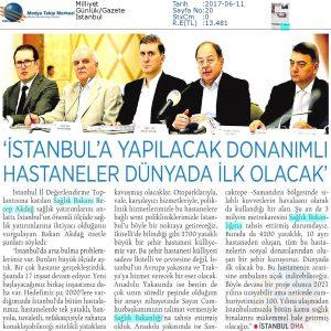Milliyet - İstanbul'a Yapılacak Donanımlı Hastaneler Dünyada İlk Olacak