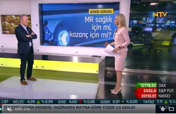 Reşat Bahat, NTV Finans Cafe'de Melda Yücel Kocaalp'ın konuğu oldu