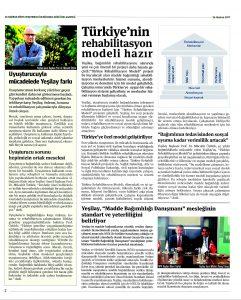 Türkiye'nin Rehabilitasyon Modeli Hazır