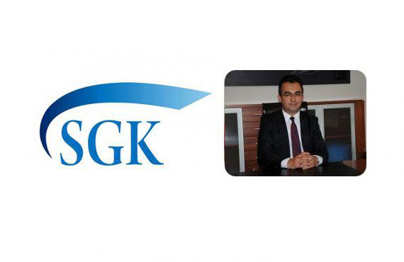 SGK GSS Yeni Genel Müdürü Uzm. Dr. Erman Ceyhan'a Görevinde Başarılar Dileriz