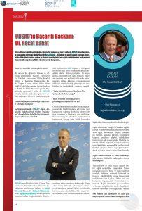 Medikaltürk - OHSAD'ın Başarılı Başkanı: Dr. Reşat Bahat – Haziran 2017
