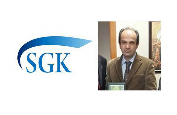 SGK GSS Yeni Genel Müdürü Dr. Mustafa Özderyol'a Görevinde Başarılar Dileriz