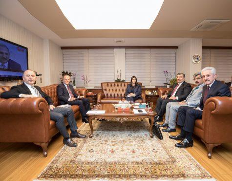 OHSAD Yönetim Kurulu Çalışma ve Sosyal Güvenlik Bakanı Sn. Jülide Sarıeroğlu'nu Ziyaret Etti
