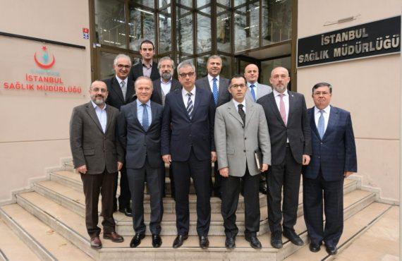 OHSAD Yönetimi, İstanbul İl Sağlık Müdürü Kemal Memişoğlu'nu Ziyaret Etti