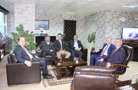 OHSAD Yönetimi, SGK İstanbul İl Müdürü Murat Göktaş'ı Ziyaret Etti