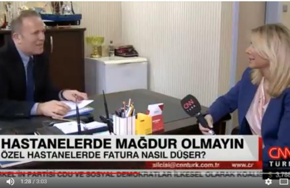 Dr. Reşat Bahat Katkı Paylarına İlişkin CNN Türk'e Açıklama Yaptı