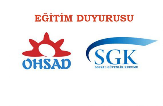 SGK Fatura Eki Belgeler ile ilgili Eğitim Duyurusu