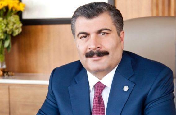 OHSAD Yönetiminden Sağlık Bakanı Dr. Fahrettin Koca'ya Tebrik Mektubu