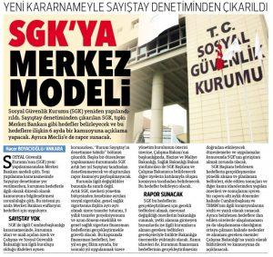 SGK, Sayıştay Denetiminden Çıkarıldı