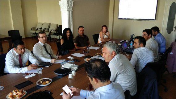Ruhsat ve Denetim Uygulamaları Konulu Departman Toplantısı Yapıldı